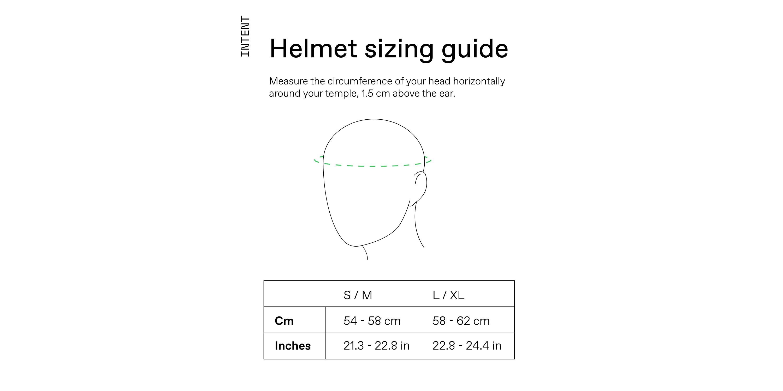 Helmet Sizing Guide